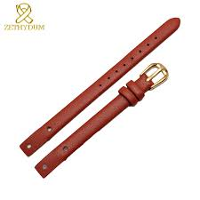 genuine leather bracelet strap women