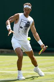 Rafael Nadal practice 2018 Wimbledon (2 ...