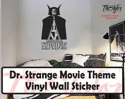 Dr Strange Movie Theme Silhouette Oversize Vinyl Wall Sticker Ebay