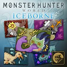 Mhw Iceborne Sticker Set Monster Statuses Set