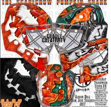 Aaron Dell gets spooky new mask in time for Halloween   InGoal ...