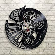 Chameleon Wall Decal Lizard Animals Vinyl Sticker Bedroom Decor Wall Clock Handmade Art Personality Gift Size 12 Inches Color Black Metal Wall Clock Metal Wall Clocks From Y73shop 19 1 Dhgate Com