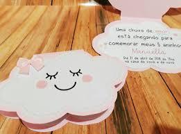 Convite Nuvem Chuva De Amor Convitenuvem Convitechuvadeamor