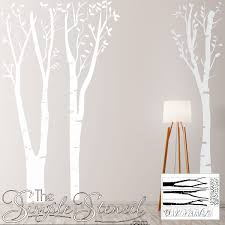 Large Tree Wall Decals Sticker Art Removable Vinyl Tree Decals Large Forest Murals