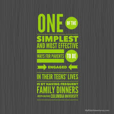 quotes about family dinner quotes