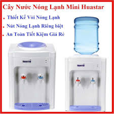 Cây nước nóng lạnh Mini Huastar 1 vòi nóng và 1 vòi lạnh với công tắc vòi nóng  lạnh riêng biệt