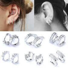 cubic zirconia cz ear piercing women