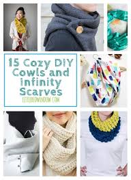 how to make an infinity scarves easy
