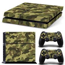 2020 Camouflage Color Ps4 Decal Skin Stickers For Playstation 4 Console Controller Stickers Controller Lightbar Decal From Colorfultech 8 16 Dhgate Com