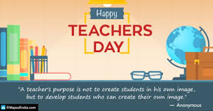 significance of teachers day in my