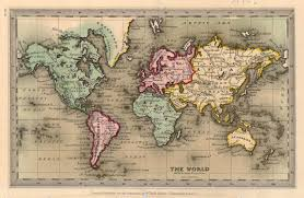 of vine world map old world map