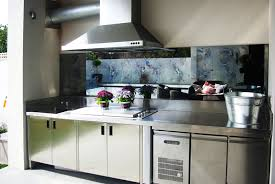 distressed mirror splashback home