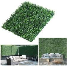 Lita Realistic Thick Artificial Hedge Boxwood Fence Privacy Screen Panels 20 X20 Uv Protection Fresh Faux Foliage Backdrop Wall Decor For Indoor Outdoor 6 Pack Amazon Co Uk Garden Outdoors