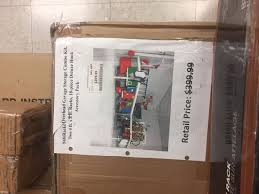 racks overhead garage storage bo kit