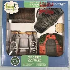 fairy garden kit secret garden 12 pc
