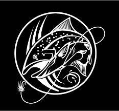 Fly Fishing Decal Trout Decal Fishing Decal Lake Life Decal Vinyl Decal Car Truck Auto Vehicle Window Custom Stic Fishing Decals Car Decals Vinyl Vinyl Decals