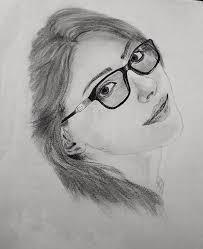 draw a beautiful pencil sketch drawing