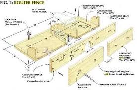 12 Router Fence Plans From Split Fences To Micro Adjusters Diy Router Table Fence Planning Router Table Fence