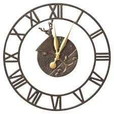indoor outdoor wall clock