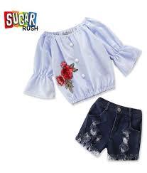 sugar rush s blue apparel bo