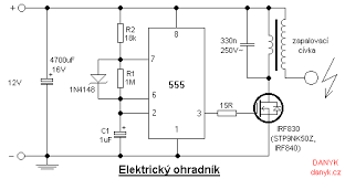 Imagem Relacionada Circuit Diagram Circuit Design Electric Fence