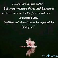 flowers bloom and er quotes writings by a k yourquote
