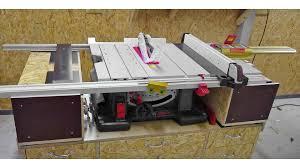 Bosch Gts 10xc Retrofit To Incra Ls Positioner And Incra Miter 5000