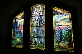 stained glass from famed artist tiffany