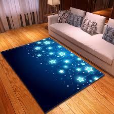 Nordic Fantasy Stars Carpets Soft Flannel Area Rugs Parlor Kids Room Anti Slip Large Bedroom Bedside Mat Rug Living Room Carpet Carpet Aliexpress