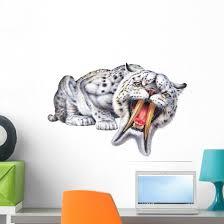 Thylacosmilus Says Hello Wall Decal Wallmonkeys Com