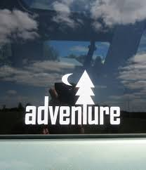 Adventure Vinyl Decal Adventure Sticker Outdoors Camping Etsy In 2020 Adventure Car Car Decals Vinyl Decals