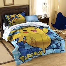 big pika comforter sham set twin full