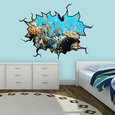 East Urban Home School Of Fish Coral Reef Wall Decal Reviews Wayfair