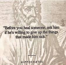 The Earth Plan: Healing ~ Hippocrates