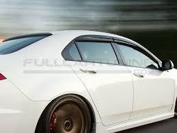 Sk Import Mugen Style Side Window Visor Smoke Honda Accord Fullcartuning