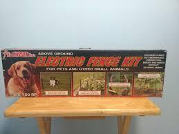 Fi Shock Ss 750rpx Pet Deterrent Electric Fence Controller Kit For Sale Online Ebay