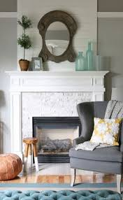15 ideas bedroom white brick fireplace