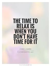 relax time quotes