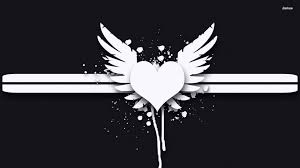 heart with wings wallpaper 63 images