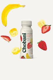 greek yogurt strawberry banana drink