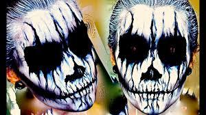 corpse paint makeup tutorial
