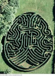 Labyrinth Maze: The Duke of Varmland #Maze, Saby, Sweden, an unusual,  egg-shaped maze designed by Adrian Fisher. This image is … | Maze, Maze  design, Labyrinth maze