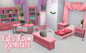 Noodles Kid S Room Stuff Furniture Recolors Here Are Some Sims House Design Sims 4 Sims House