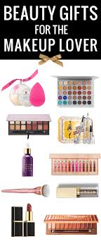 beauty gifts for the makeup lover on