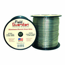 Field Guardian 12 1 2 Ga Aluminum Wire 1000 Electric Fence Af1210 814421012555 For Sale Online