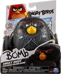 Amazon.com: Angry Birds - Explosive Talking Bomb: Toys & Games