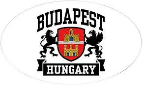 Amazon Com Cafepress Budapest Hungary Oval Bumper Sticker Euro Oval Car Decal Home Kitchen