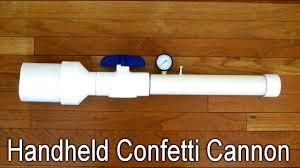 handheld confetti cannon 10 steps