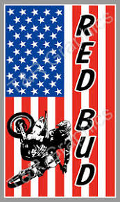 Motocross Sticker Decal Red Bud Ama Dirt Bike American Flag Truck Car Windows Ebay