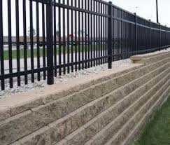 Building A Fence On Top Of A Segmental Block Retaining Wall Australian Paving Centre Mt Barker Murray Bridge